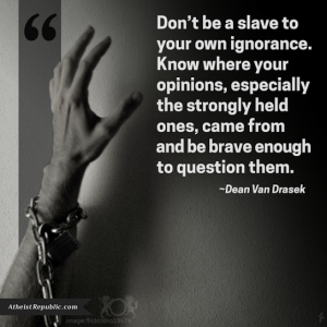don't be a slave