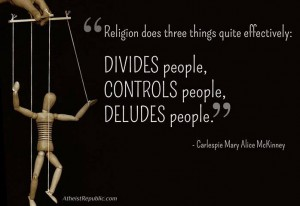 religion does three