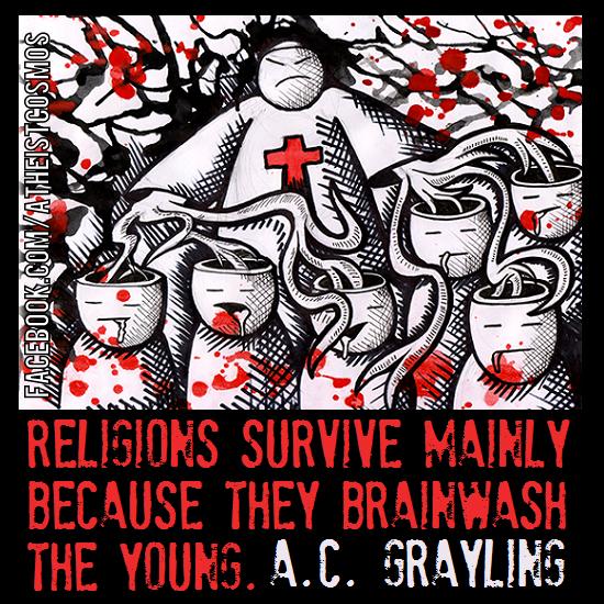 Religions survive