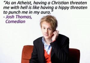 as an atheist