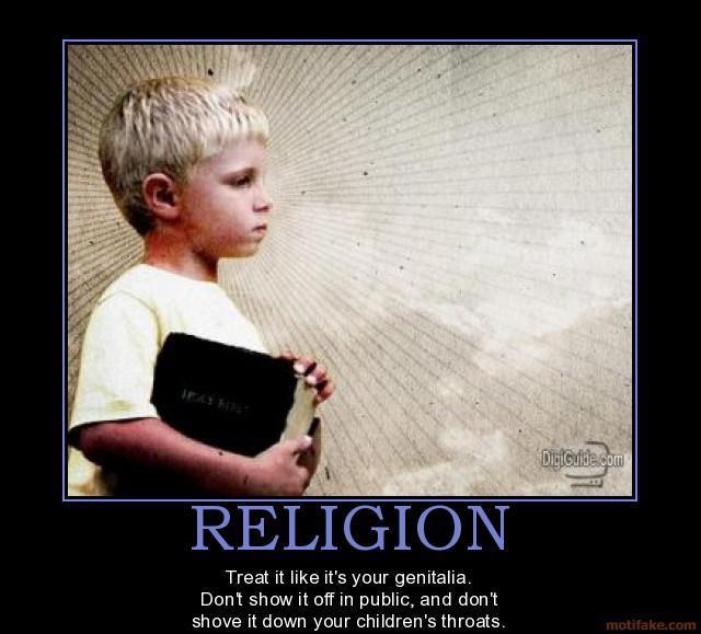 religion..treat it
