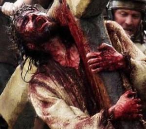 Jesus with crucifix