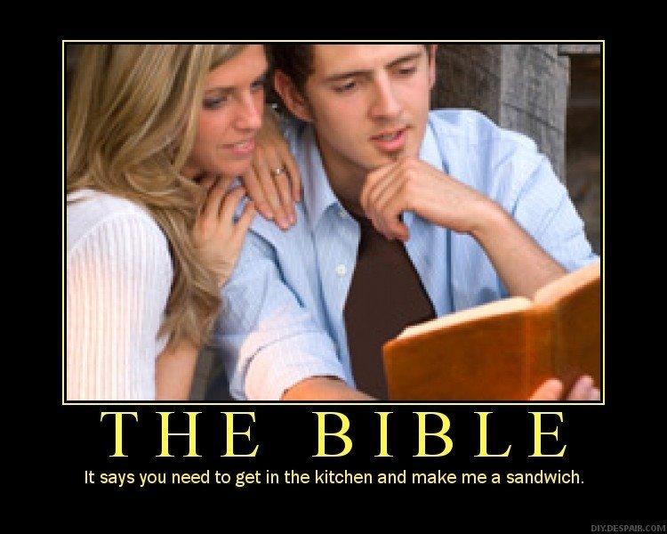 bible sandwhich