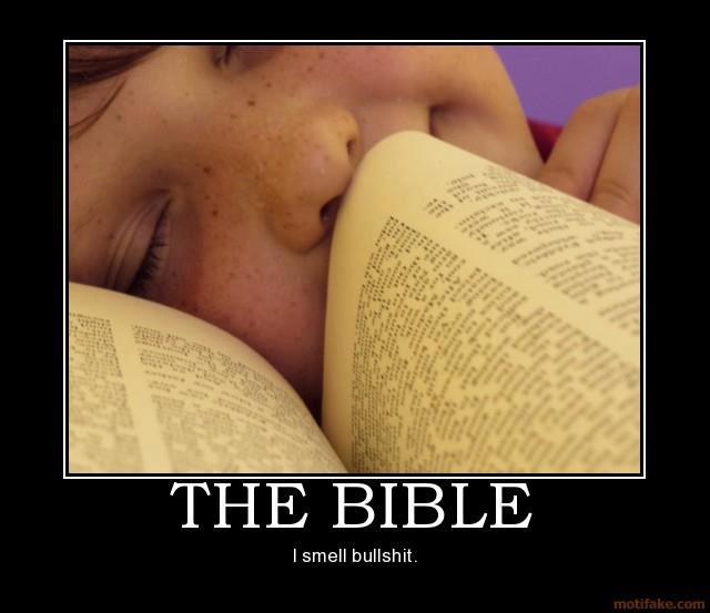 the bible…I smell bullshit