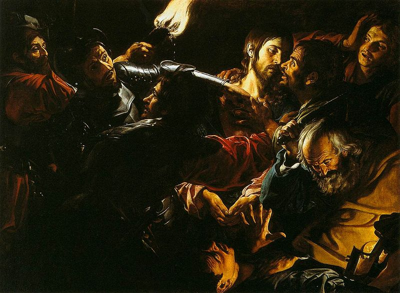 arrest of Jesus 3